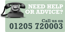 Need Help or Advice? Call: 01205 720003