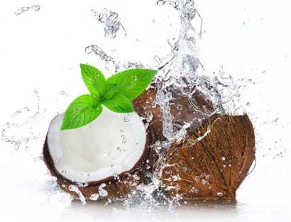 Minty Coconut Splash