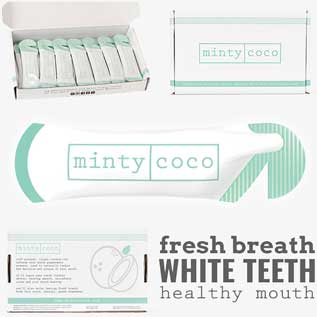 mintycoco product packaging